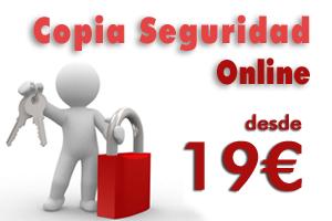 Copias de seguridad remotas, backup online para empresas desde 19€